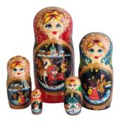 Purple toy Nesting dolls -Troika T210605